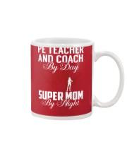 Pe Teacher And Coach - Super Mom Job Mug thumbnail