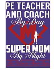 Pe Teacher And Coach - Super Mom Job 11x17 Poster thumbnail