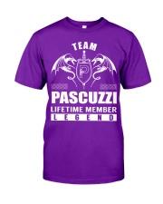 Team PASCUZZI Lifetime Member - Name Shirts Classic T-Shirt thumbnail