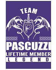 Team PASCUZZI Lifetime Member - Name Shirts 11x17 Poster thumbnail