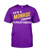 Its a MONROE Thing - Name Shirts Classic T-Shirt thumbnail