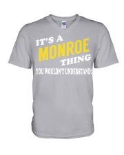 Its a MONROE Thing - Name Shirts V-Neck T-Shirt thumbnail