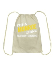 Its a MONROE Thing - Name Shirts Drawstring Bag thumbnail