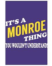 Its a MONROE Thing - Name Shirts 11x17 Poster thumbnail