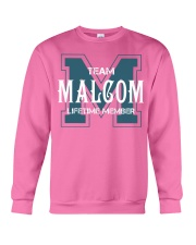 Team MALCOM - Lifetime Member Crewneck Sweatshirt thumbnail