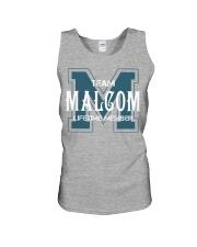 Team MALCOM - Lifetime Member Unisex Tank thumbnail