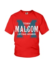 Team MALCOM - Lifetime Member Youth T-Shirt thumbnail