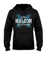 Team MALCOM - Lifetime Member Hooded Sweatshirt front