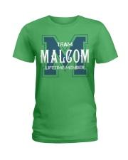 Team MALCOM - Lifetime Member Ladies T-Shirt thumbnail