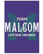 Team MALCOM - Lifetime Member 11x17 Poster thumbnail