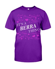 Its a BERRA Thing - Name Shirts Classic T-Shirt tile