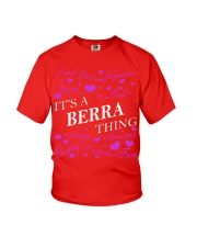 Its a BERRA Thing - Name Shirts Youth T-Shirt tile