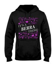 Its a BERRA Thing - Name Shirts Hooded Sweatshirt front