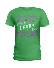 Its a BERRA Thing - Name Shirts Ladies T-Shirt tile