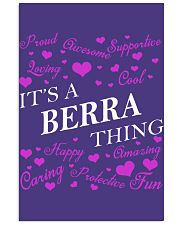 Its a BERRA Thing - Name Shirts Vertical Poster tile