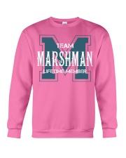 Team MARSHMAN - Lifetime Member Crewneck Sweatshirt thumbnail