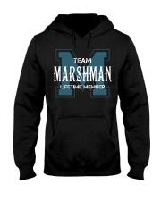 Team MARSHMAN - Lifetime Member Hooded Sweatshirt front