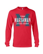 Team MARSHMAN - Lifetime Member Long Sleeve Tee thumbnail