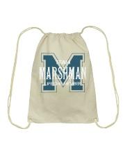 Team MARSHMAN - Lifetime Member Drawstring Bag thumbnail