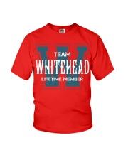 Team WHITEHEAD - Lifetime Member Youth T-Shirt thumbnail
