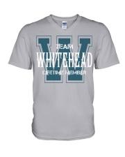 Team WHITEHEAD - Lifetime Member V-Neck T-Shirt thumbnail