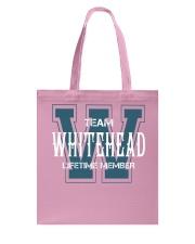 Team WHITEHEAD - Lifetime Member Tote Bag thumbnail