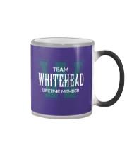 Team WHITEHEAD - Lifetime Member Color Changing Mug thumbnail