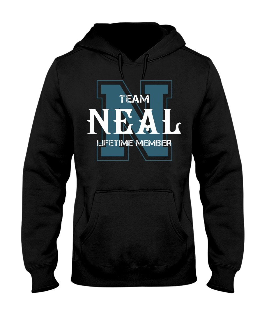 Team NEAL - Lifetime Member Hooded Sweatshirt