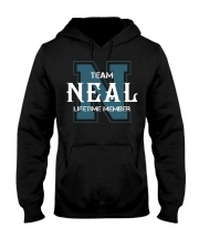 Team NEAL - Lifetime Member Hooded Sweatshirt front