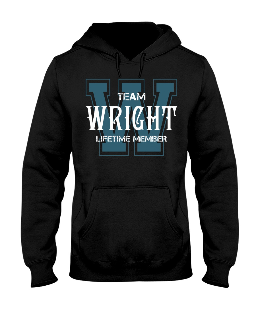 Team WRIGHT - Lifetime Member Hooded Sweatshirt