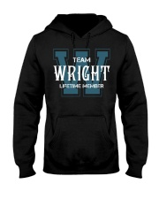 Team WRIGHT - Lifetime Member Hooded Sweatshirt front