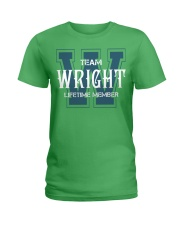 Team WRIGHT - Lifetime Member Ladies T-Shirt thumbnail