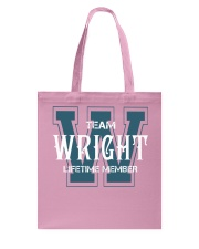 Team WRIGHT - Lifetime Member Tote Bag thumbnail