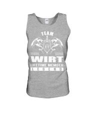 Team WIRT Lifetime Member - Name Shirts Unisex Tank thumbnail