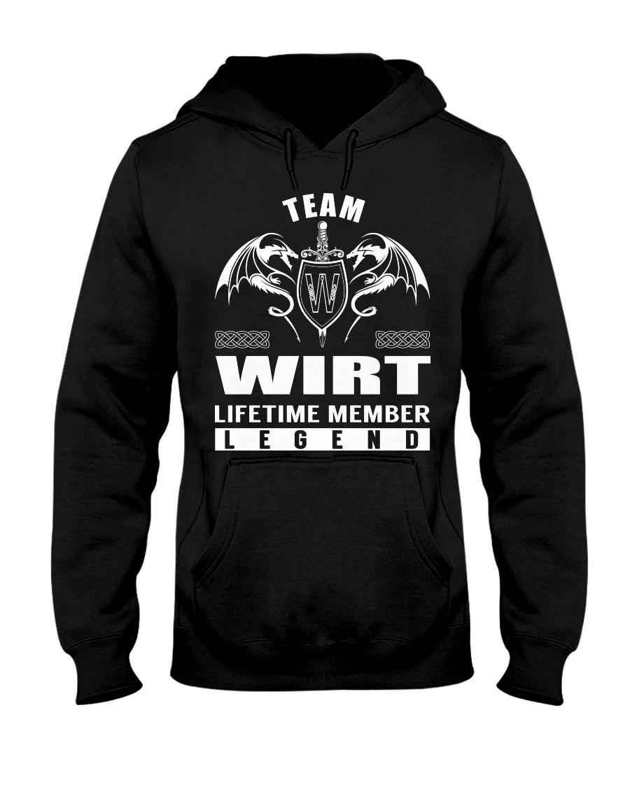 Team WIRT Lifetime Member - Name Shirts Hooded Sweatshirt