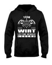Team WIRT Lifetime Member - Name Shirts Hooded Sweatshirt front