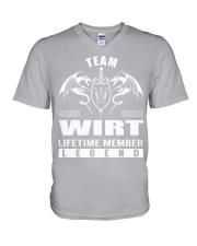 Team WIRT Lifetime Member - Name Shirts V-Neck T-Shirt thumbnail