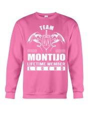 Team MONTIJO Lifetime Member - Name Shirts Crewneck Sweatshirt thumbnail