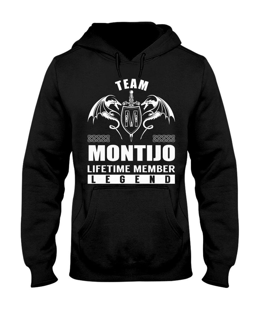 Team MONTIJO Lifetime Member - Name Shirts Hooded Sweatshirt