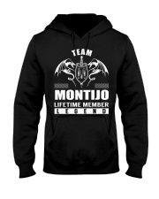 Team MONTIJO Lifetime Member - Name Shirts Hooded Sweatshirt front