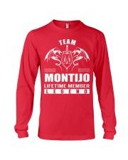 Team MONTIJO Lifetime Member - Name Shirts Long Sleeve Tee thumbnail