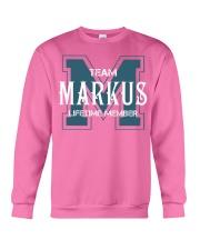 Team MARKUS - Lifetime Member Crewneck Sweatshirt thumbnail