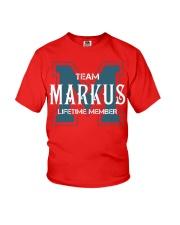 Team MARKUS - Lifetime Member Youth T-Shirt thumbnail