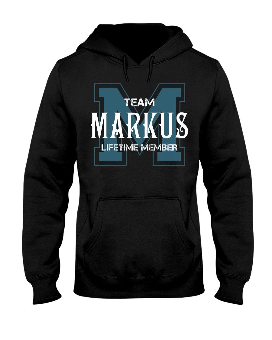 Team MARKUS - Lifetime Member Hooded Sweatshirt