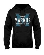 Team MARKUS - Lifetime Member Hooded Sweatshirt front