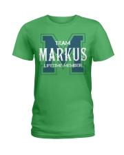 Team MARKUS - Lifetime Member Ladies T-Shirt thumbnail