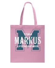 Team MARKUS - Lifetime Member Tote Bag thumbnail