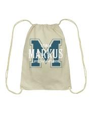 Team MARKUS - Lifetime Member Drawstring Bag thumbnail
