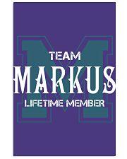 Team MARKUS - Lifetime Member 11x17 Poster thumbnail