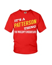Its a PATTERSON Thing - Name Shirts Youth T-Shirt tile